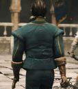 Greedfall Vasco Blue Jacket With Puffer Shoulders
