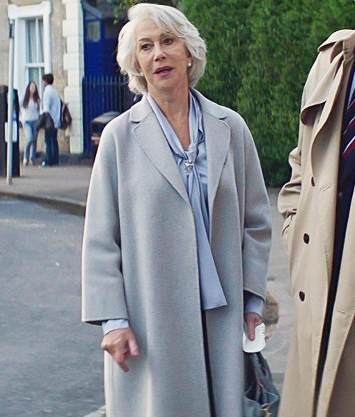 The Good Liar Helen Mirren Coat