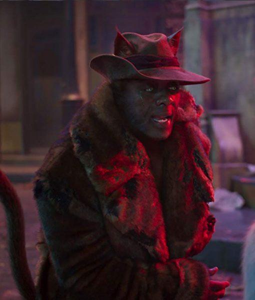 Idris Elba Cats Trench Coat
