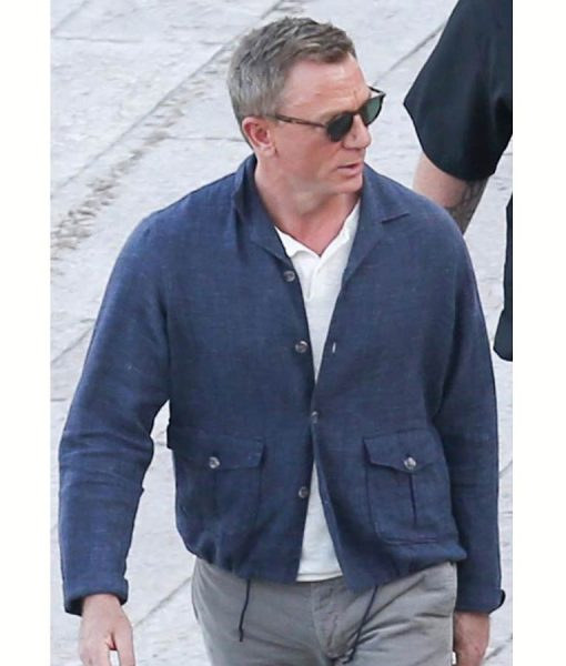 James Bond 25 No Time To Die Cotton Jacket