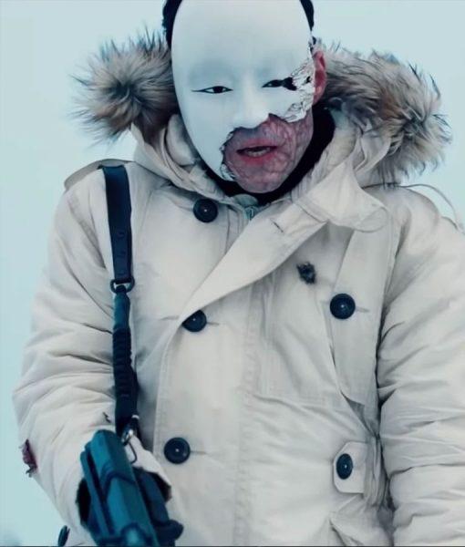 James Bond 25 Masked Gunman Parka Coat