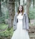 Jessica Barden Grey Jacket
