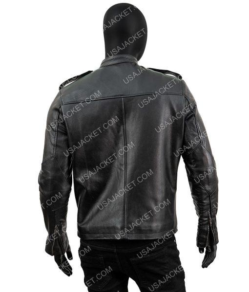 Detective Antonio Dawson Black Leather Jacket