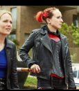 Kat Motorcycle Leather Jacket