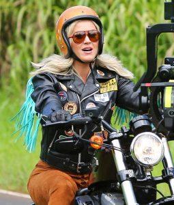 Katy Perry Harleys In Hawaii Biker Jacket
