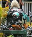Katy Perry Harleys In Hawaii Motorcycle Jacket With Patches