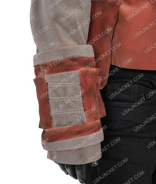 The Mandalorian Nick Nolte Brown Vest