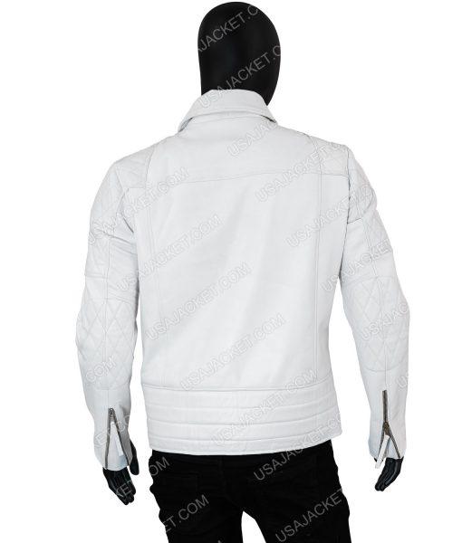 Mens Asymmetrical Leather Jacket