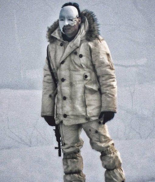 No Time To Die James Bond 25 Masked Gunman Coat