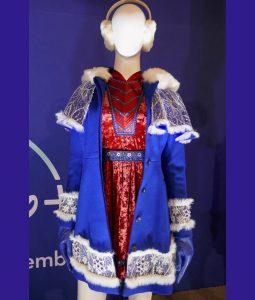 Anna Krindrick Noelle Blue Jacket