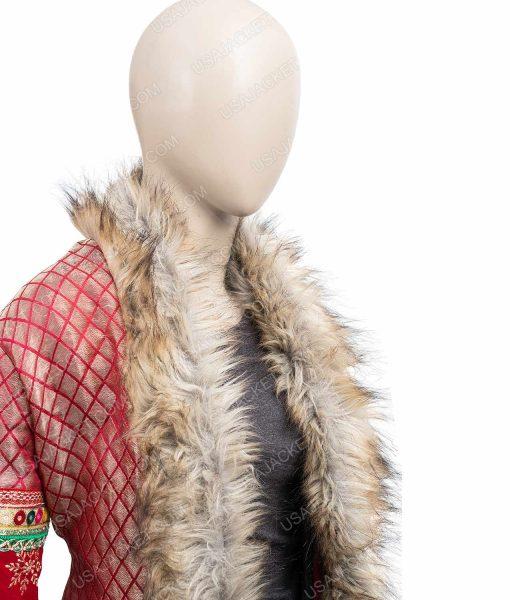 Noelle Anna Kendrick Shearling Noelle Kendrick Coat