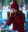Noelle Kringle Shearling Red Jacket