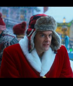 Nick Kringle Bill Hader Santa Claus Coat