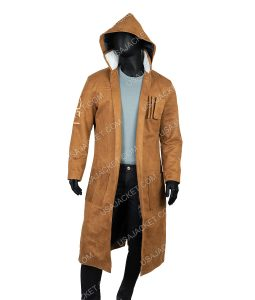 Star Wars The Rise Of Skywalker Brown Coat