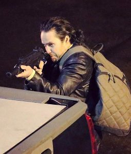 Taylor Kitsch 21 Bridges Leather Jacket