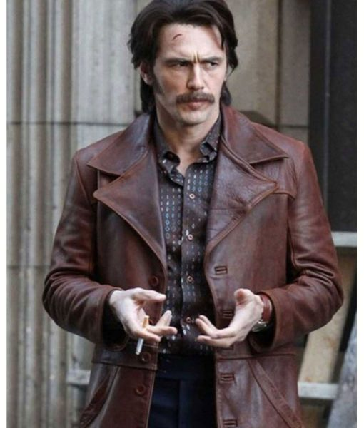 The Deuce Frankie Martino Leather Jacket