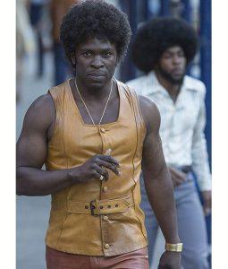 The Deuce Larry Brown Leather Vest
