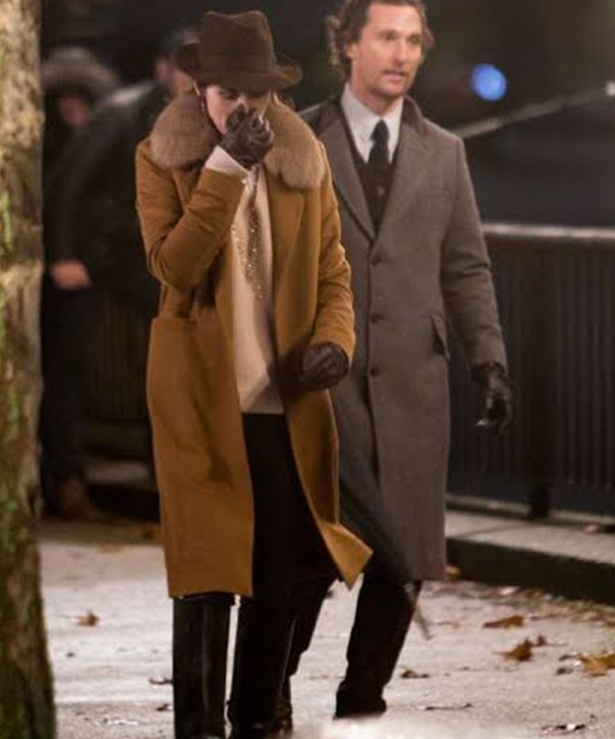 The Gentlemen Michelle Dockery Coat Michelle Dockery