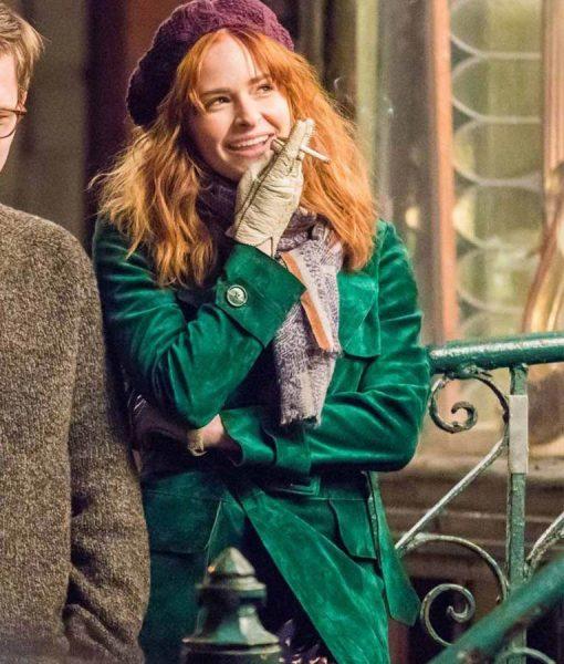 The Goldfinch Green Pippa Long Coat