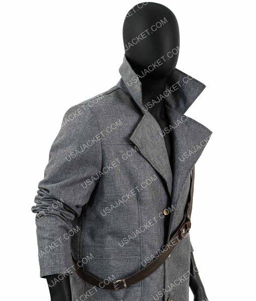 Grey Wool-blend The Hunter Coat