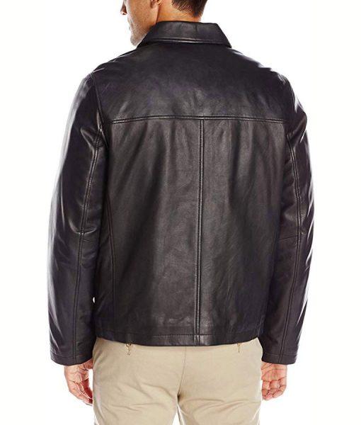 Black Leather Tony Soprano Jacket