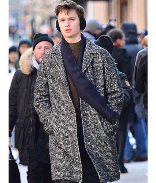 Theo Decker Grey Coat