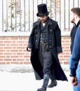 A christmas Tom Hardy Trench Coat