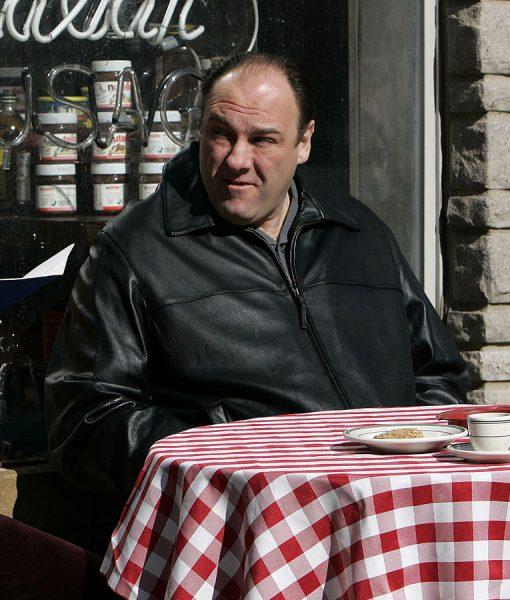 The Sopranos James Black Leather Jacket