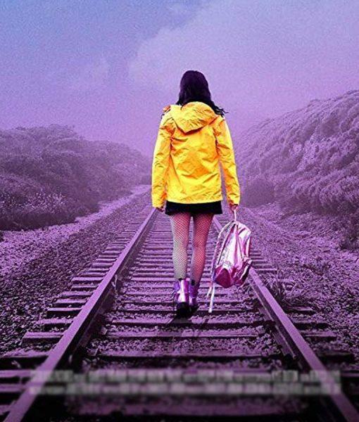 Tracks Yellow Jacket With Hood