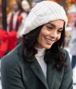 The Knight Before Christmas Vanessa Hudgens Brooke Trench Coat