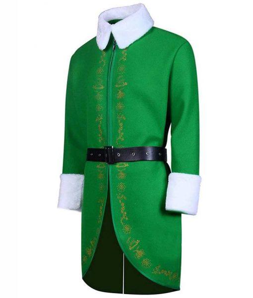 Will Ferrell Elf Buddy Green Coat