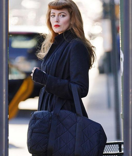 The Rhythm Section Blake lively Black Coat
