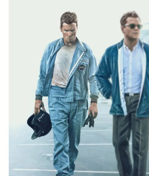 ford v Ferrari Christian Bale Jacket