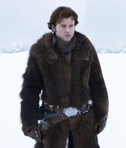 Solo A Star Wars Story Han Solo Shearling Coat