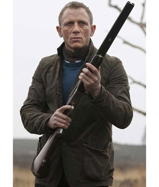 James Bond Skyfall Cotton Field Jacket