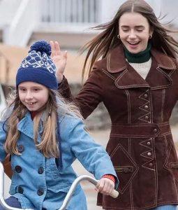 Liz Kendall Brown Coat