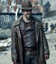 His dark Materials Lee Scoresby Leather long Coat