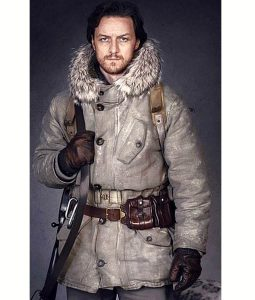 His Dark Materials Lord Asriel White Fur Coat