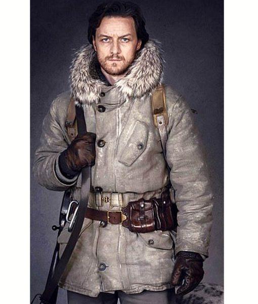 His Dark Materials James McAvoy White Fur Coat