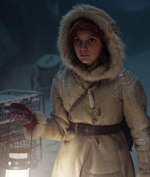 His Dark Materials Lyra Belacqua Beige Coat
