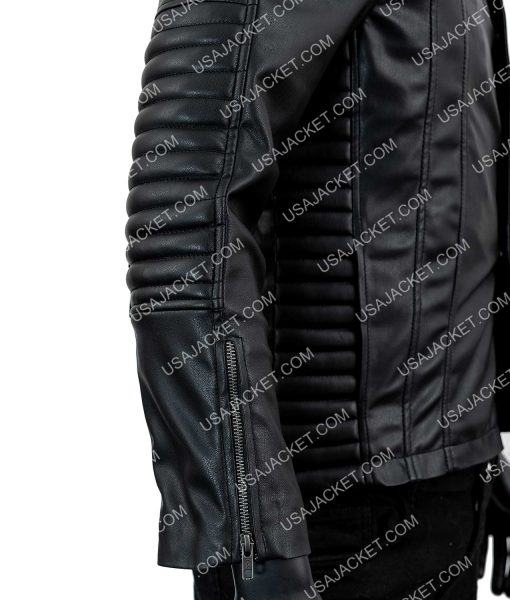Mortal Instruments Jamie Campbell Bower Leather Jacket