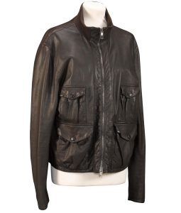 Daniel Craig Casino Royale Leather Jacket