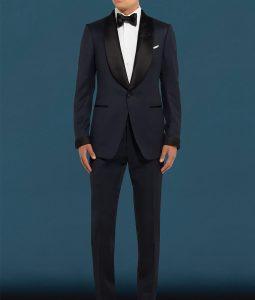 James Bond No Time To Die MIdnight Blue Dinner Tuxedo