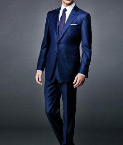 Spectre Daniel Craig Blue Sharkskin Suit
