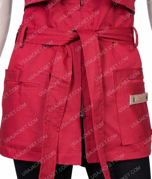Red Judy Robinson Vest