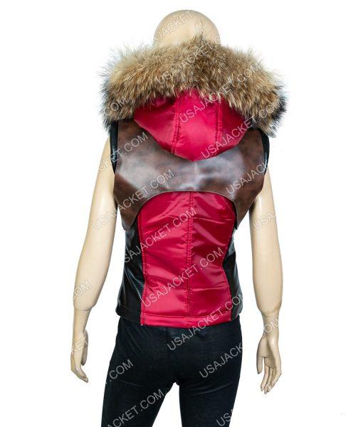 Martha Vest With Hood