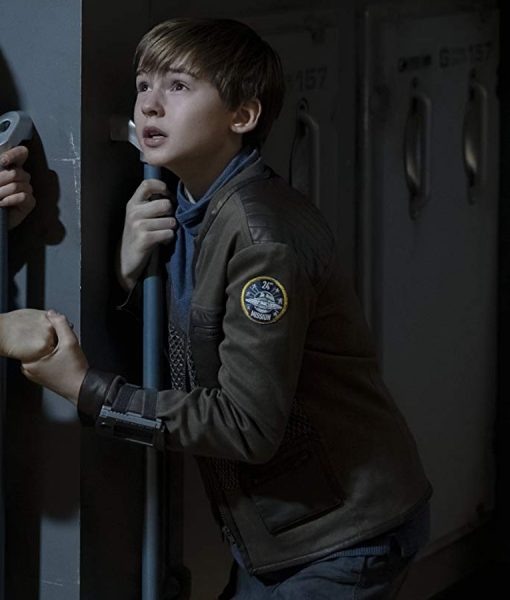 Lost In Space Season 02 Brown Will Robinson Jacket