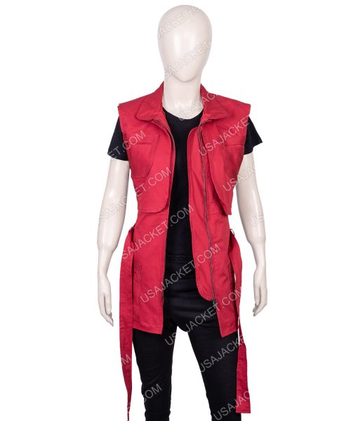 Lost In Space Season 02 Judy Robinson Red Vest