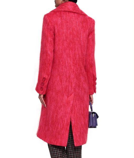 Lucy HaleDouble Breasted Katy Keene Coat