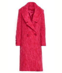 Lucy HaleDouble Breasted Katy Keene Pink Coat